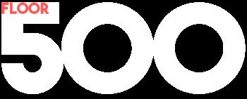 floor five hundred logo v3 white